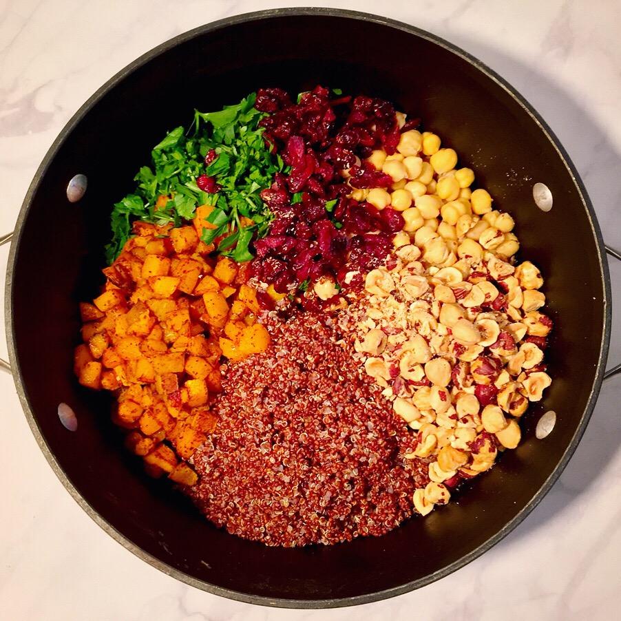Spiced Squash Quinoa