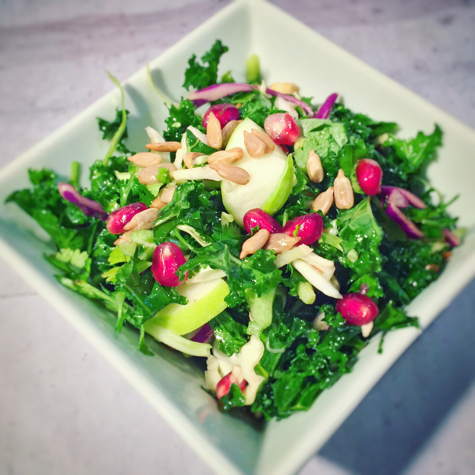 Festive Winter Salad with Citrus Vinaigrette