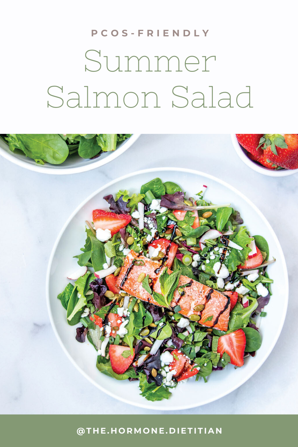 Summer Salmon Salad Pinterest