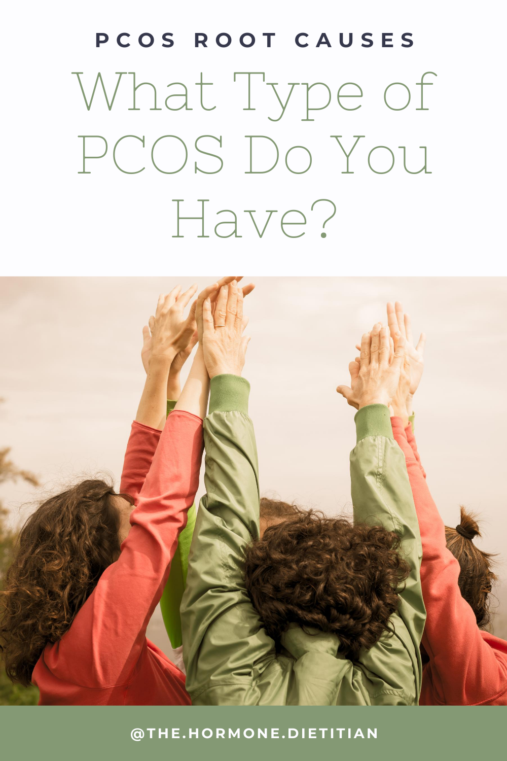 different women with PCOS pinterest post