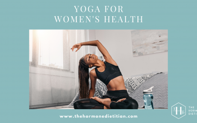 Yoga for Women's Health, Your Questions Answered: An interview with Kendra Tolbert, MS, RDN, RYT