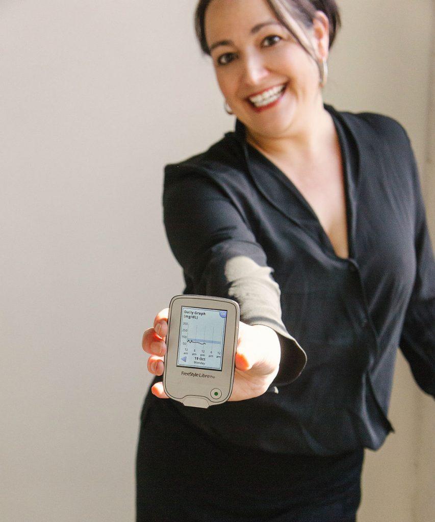 continuous glucose monitor